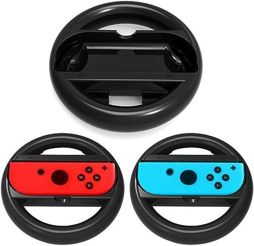 OSTENT 2 x empuñadura del volante Racing Racing para Nintendo ...