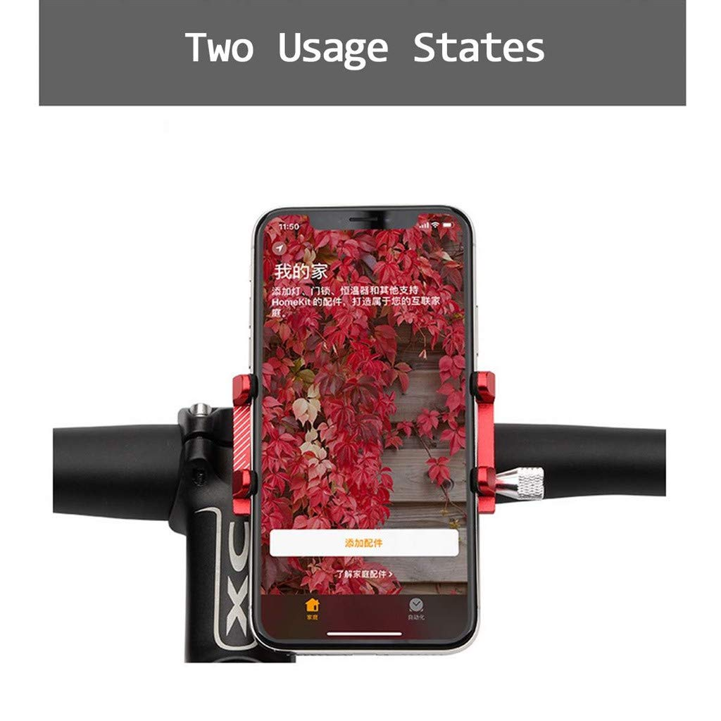 SMILEQ Soporte Antideslizante Ajustable del Soporte del tel/éfono m/óvil para Xiaomi Mijia M365 el/éctrico