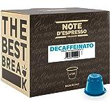 Note D'Espresso Cápsulas de Café Descafeinado exclusivamente compatibles con afeteras Nespresso* - 100 Unidades de 5.6 g…