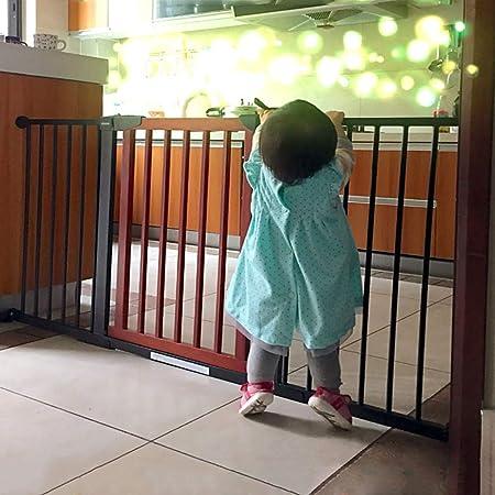 Puertas De Seguridad para Bebés Barrera para Escaleras, Cercado para Perros para Mascotas Parque Infantil Puerta De Aislamiento para Puertas para El Hogar, Altura 74,5 Cm (Tamaño : 131-138cm): Amazon.es: Hogar