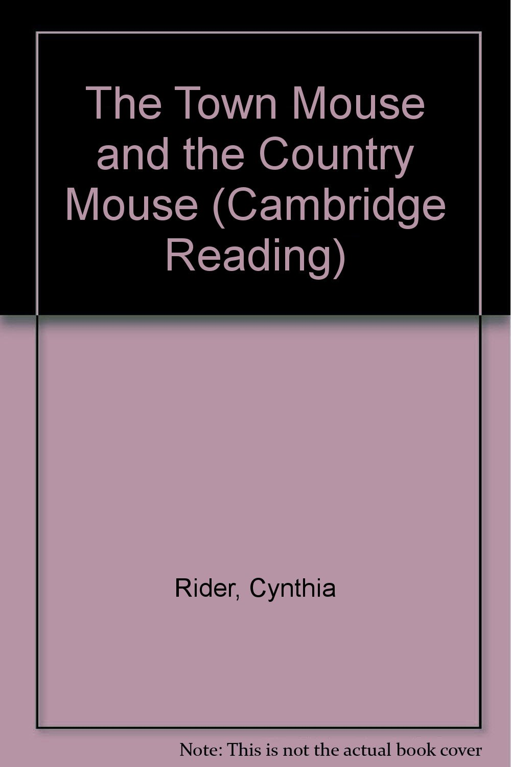 Download The Town Mouse and the Country Mouse (Cambridge Reading) pdf