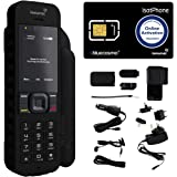 BlueCosmo Inmarsat IsatPhone 2.1 Satellite Phone Kit (SIM Included) - Global Coverage - Voice, SMS, GPS Tracking…