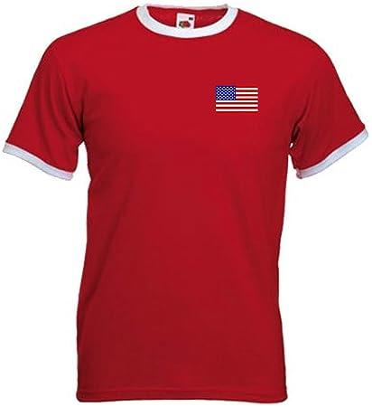 Camiseta Hombre USA Estados Unidos Am?rica Equipo F?tbol - Todas Tallas
