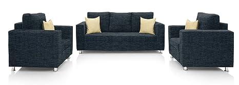 Awesome Comfort Couch Valencia Sofa Set Dark Blue Ibusinesslaw Wood Chair Design Ideas Ibusinesslaworg