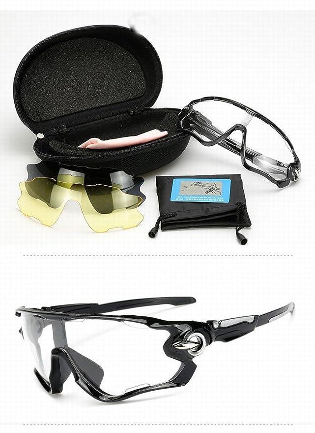 Gafas de Sol Al Aire Libre de Las Gafas de Sol de la Bici de ...
