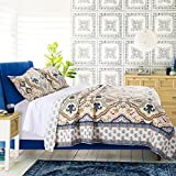 Greenland Home Monte Carlo 100% Cotton Quilt Set, King