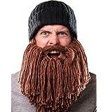 Da.Wa 1 Stück Bartmütze Vagabond Bild Kreative Grübeln bärtige stricken Wollmütze