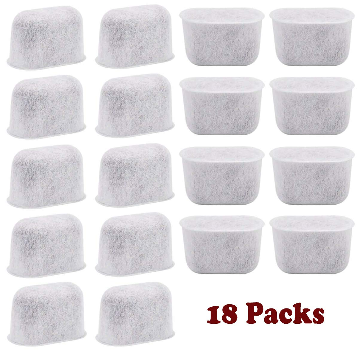Pureup Compatible Keurig coffee filter Replacement Charcoal Water Filters 18pack