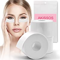 Lash Tape Eyelash Extension Supplies - Akissos 3 Rolls Medical Lash Foam Tape Elastic Tapes Eyelash Pads Under Eye…