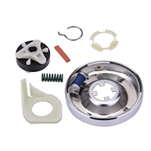 Heavy Duty 285753A Motor Coupling Kit 285785 Washer Clutch Kit For Whirlpool Kenmore Sears Roper Estate Kitchenaid 285331, 3351342, 3946794, 3951311,