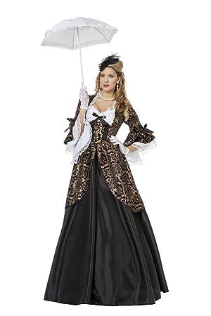 Disfraz de marquesa Deluxe mujer Taille L