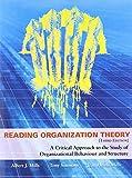 Reading Organization Theory 9781551930534