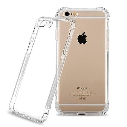 NONZERS Funda para iPhone 8 iPhone 7,Carcasa para iPhone 8 iPhone 7,Resistente a Arañazas,Golpes,Función de Conversión de Sonido(Transparente)