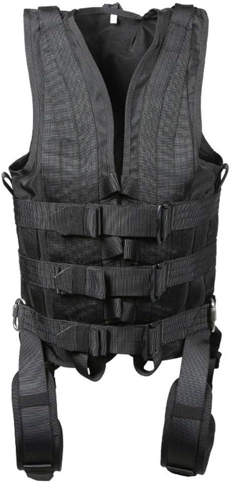 Syokosan 映画とテレビのWia衣類、全身を保護するためのWiaシートハーネスの吊り下げ撮影(撮影機器) (色 : 黒, サイズ : S(weight40-75kg)) 黒 S(weight40-75kg)