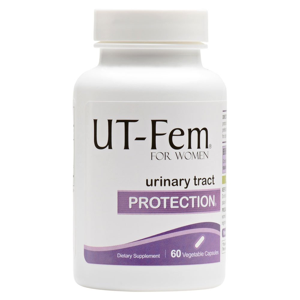UT-Fem Protection - Contains D-Mannose, Hibiscus & Cranberry (36 mg PAC) - Urinary Tract Infection UTI Protection - Helps Protect and Promote Bladder & Urinary Tract Health by UT-Fem