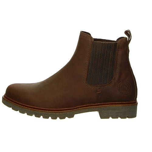 Panama Jack Hombre Bryan C2 Chelsea Boots tamaño 44 marrón (marrón)