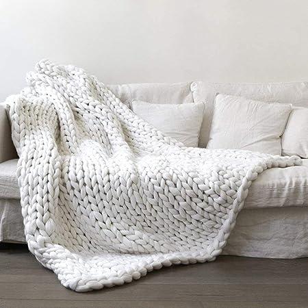 4423604661d9 Chunky Knit Blanket Throw