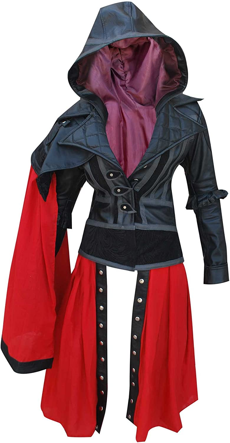 Zouq Fashions Assassin S Creed Syndicate Evie Frye Leather Jacket