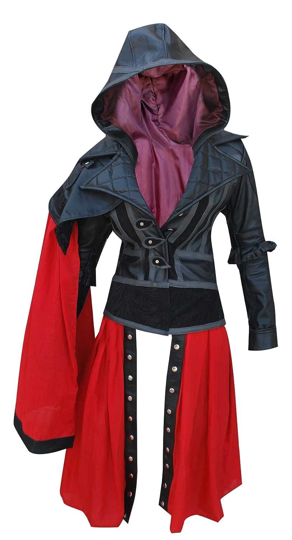 Evie Frye Leather Jacket Costume