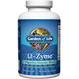 Garden of Life Vegetarian Digestive Supplement - Omega Zyme Enzyme Blend for Digestion, Bloating, Gas, and IBS, 180 Caplets