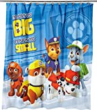 Bathroom Shower Curtains and Accessories Paw Patrol Fabric Shower Curtain