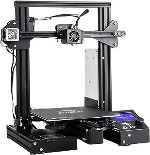 Creality Ender 3D-Druckerkit mit Upgrade Cmagnet Build Surface Plate und UL-zertifiziertem Mean Well-Netzteil (Ender 3)