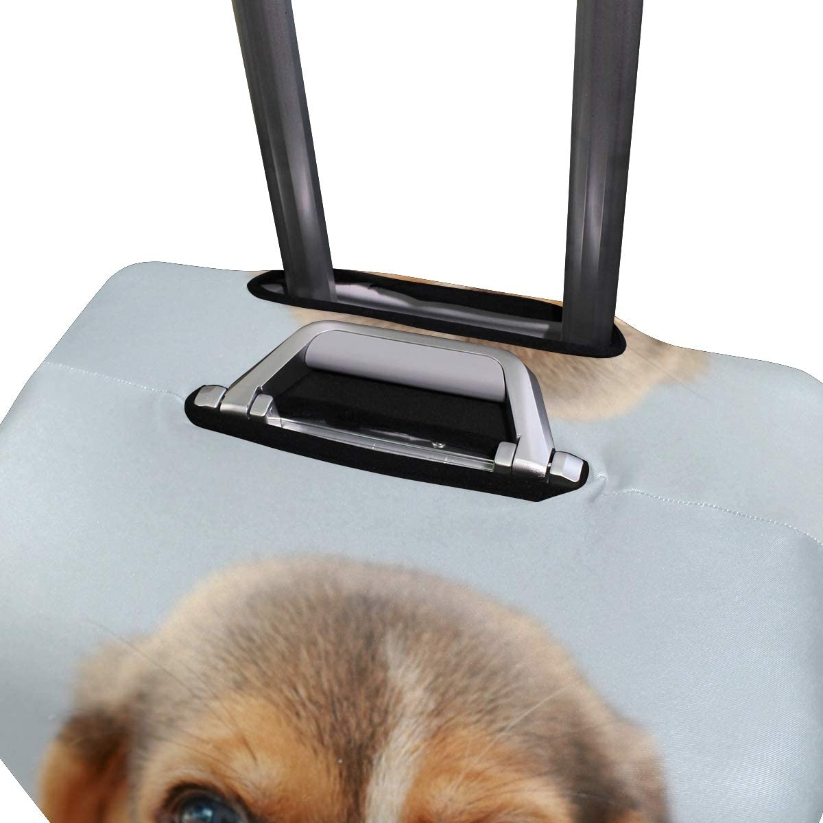 Travel Luggage Cover Small Cute Beagle Puppy Dog Tongue Suitcase Protector