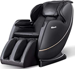 SGorri Massage Chair Fully Body Zero Gravity and Shiatsu Recliner with Bluetooth, Hip Heating, Foot Massage and Air Pressure for Whole Family SG-5101