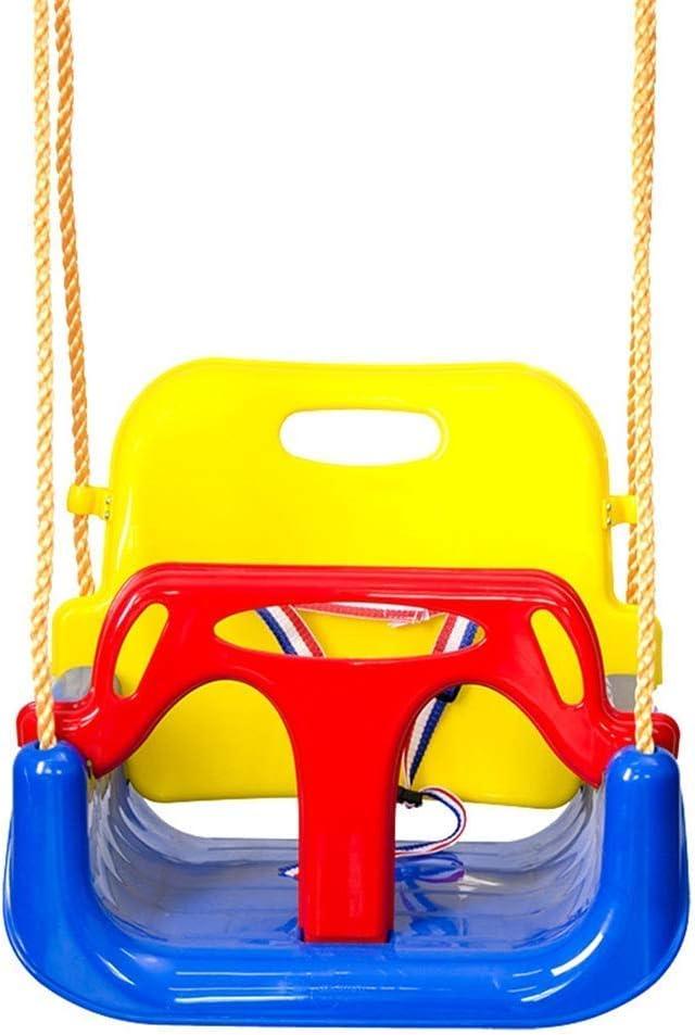 ZXL Good for The Brain Toys Kid Swing Jaketen 3-en-1 Juego de Columpios para Columpios para niños pequeños para Columpios para Juegos Infantiles, Columpios para bebés y Adolescentes (Color, Tama
