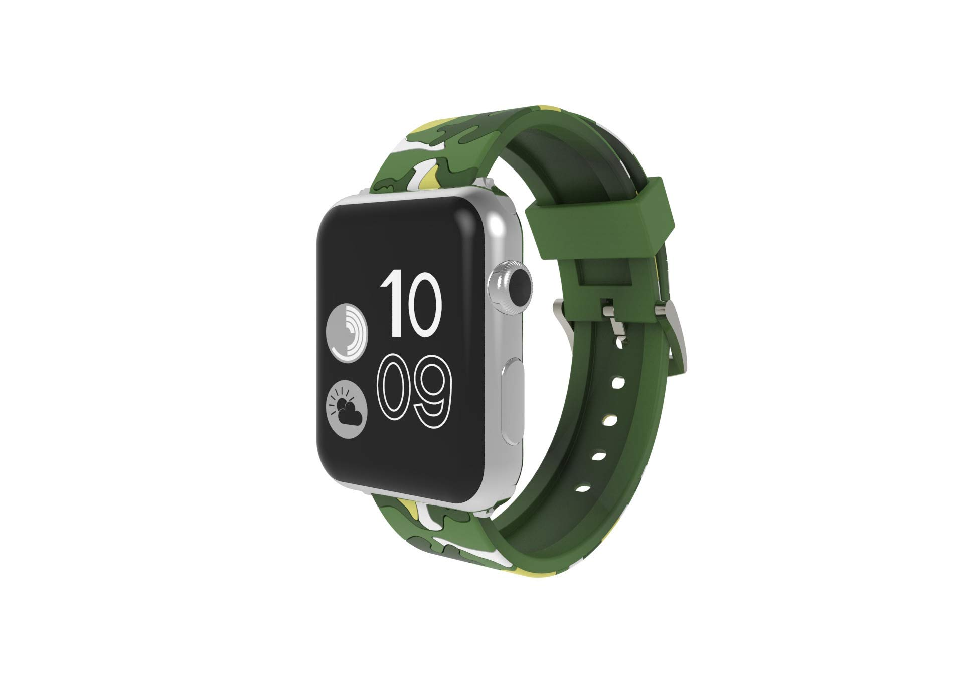 Watch Strap 38mm 42mm 40mm 44mm Camouflage Silicone Replacement for iWatch Series 4 3 2 1 Nike+ by Kortusa
