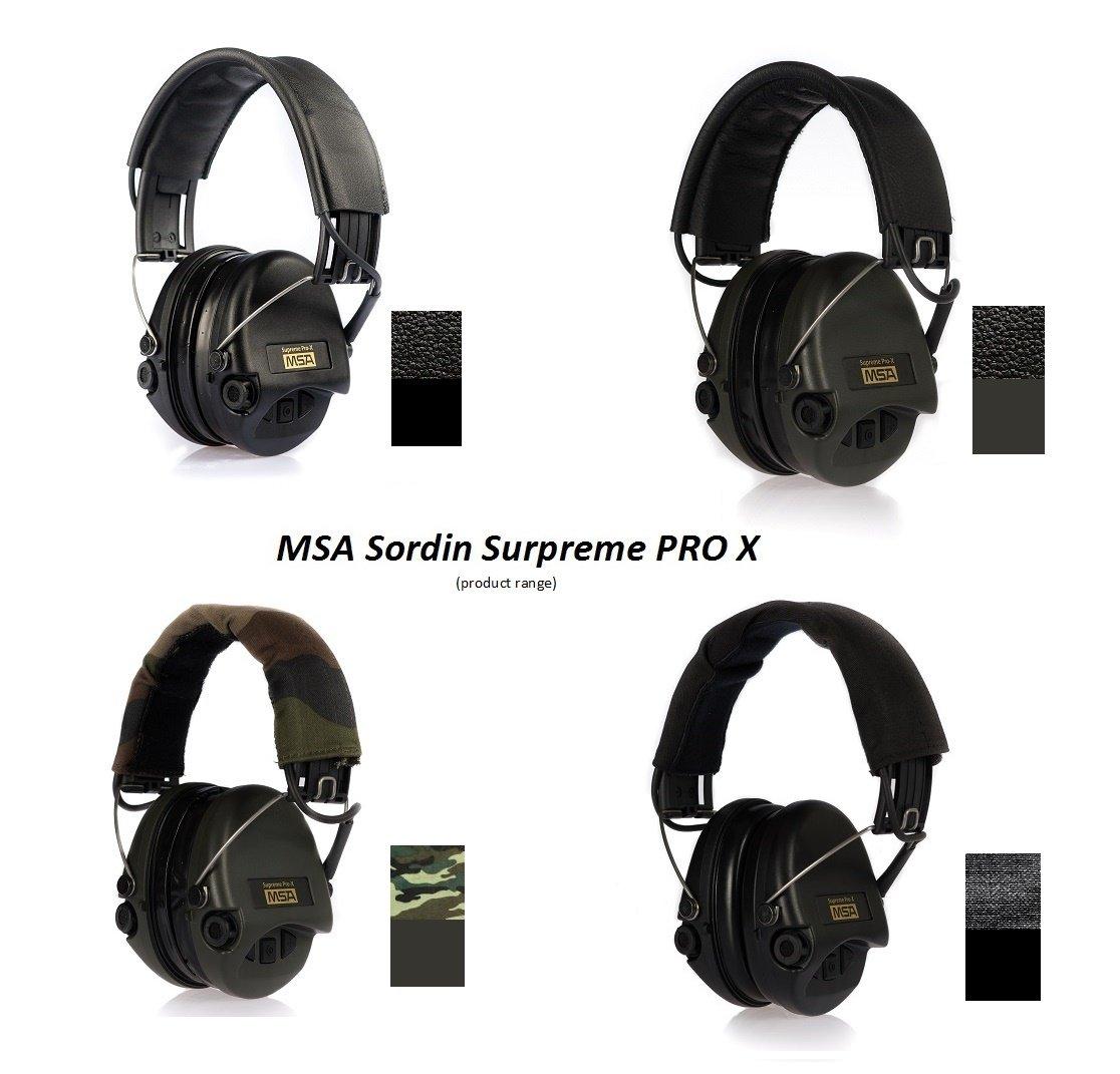 vert Tasses // entr/ée auxiliaire entre autres MSA Sordin Supr/ême Pro X incl super confortable Coussin de gel // Mod/èle: Bande de camouflage englobant Sedan Protection auditive professionnelle