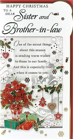 Amazonde Schwester Weihnachtskarte Für Schwagerschwägerin