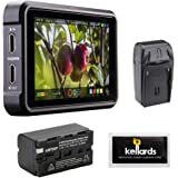 "Atomos Ninja V 5"" 4K HDMI Recording Monitor with NP-F770 Lithium-Ion Battery Pack, Compact AC/DC Charger & Screen…"