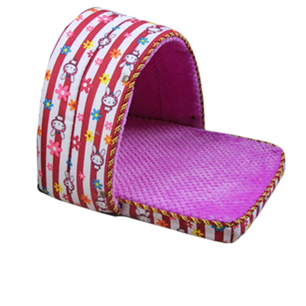 C Medium C Medium Kennel, 3 in 1 Dog House Large Dog Winter Warm Washable Mattress House Pet Supplies Cat Caves (color   C, Size   M)