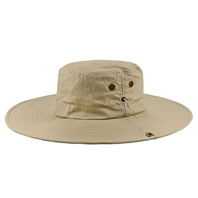 Villavivi Big Bucket Outdoor Summer Sun Fisherman Hat Cap Men Women