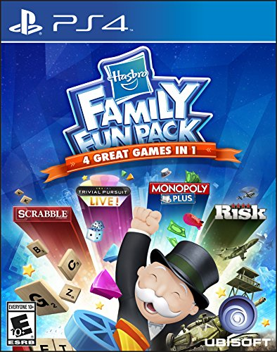 Hasbro Family Fun Pack - PlayStation 4 Standard Edition (Top Playstation 2 Games Of All Time)