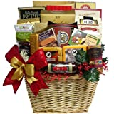Best All Around Gourmet Food Gift Basket with Smoked Salmon (Chocolate Option)