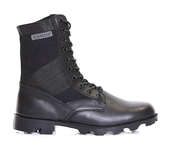 18 opinioni per Slimbridge Force stivali di pelle militari