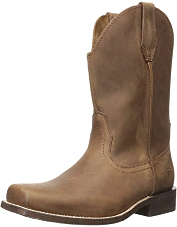 c5b36aedc035 Ariat Men s Rambler Wide Square Toe Western Cowboy Boot
