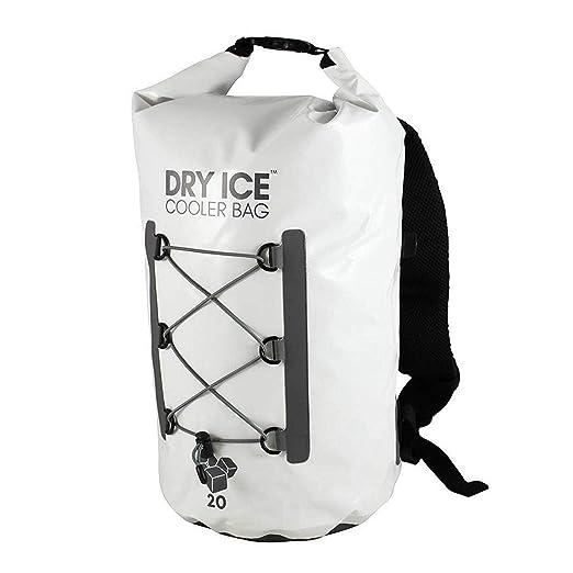 Dry Ice Cooler Mochila Nevera Portátil 20 Litros Blanco Bolsa ...