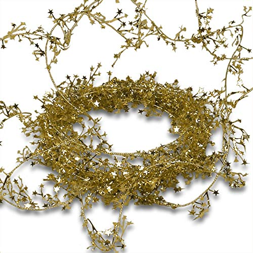 Gold Small Star Garland -