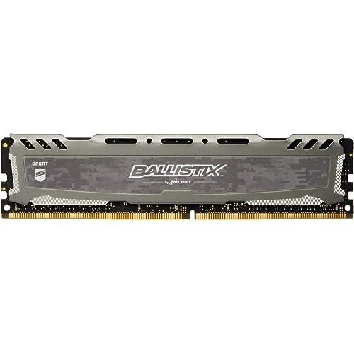 Crucial Ballistix Sport LT BLS16G4D32AESB 3200 MHz DDR4 DRAM Memoria Gamer para ordenadores de sobremesa 16 GB CL16 Gris