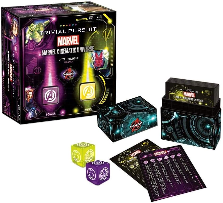 Trivial Pursuit Marvel Cinematic Universe Volume 2: Amazon.es ...