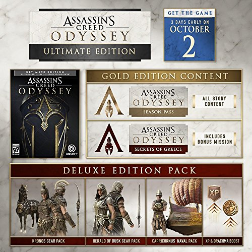 Assassin's Creed Odyssey: Ultimate Edition - Xbox One [Digital Code]
