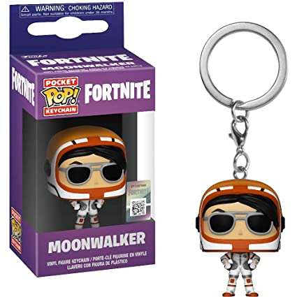 Amazon.com: Funko Moonwalker: Fortnite x Pocket POP! Mini ...