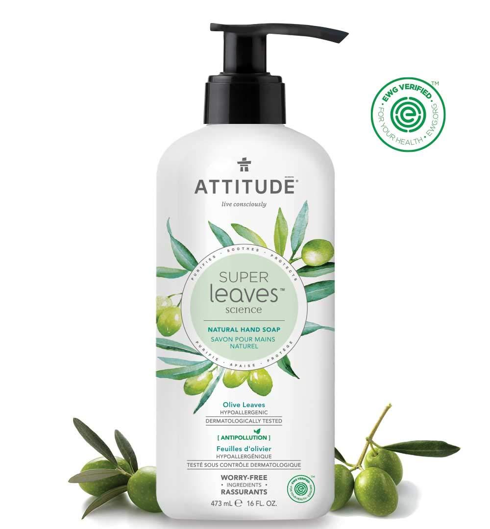 Amazon.com : Natural Hand Soap by ATTITUDE: EWG VERIFIED