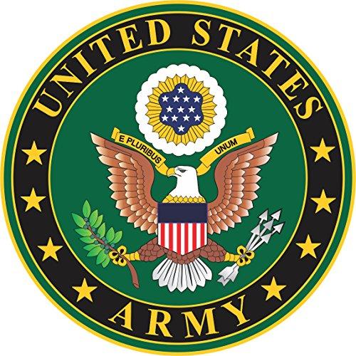 Military Vet Shop Magnet US Army Seal Vinyl Transfer Vinyl Magnet Car Fridge Locker Metal Decal 3.8