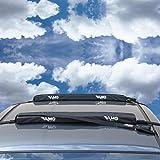 VAMO BLACK Premium DOUBLE SOFT Surfboard Car Racks