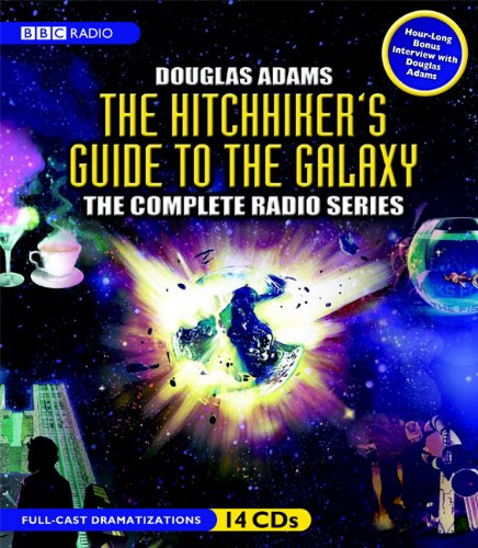 The Hitchhiker's Guide to the Galaxy: The Complete BBC Radio Series (Hitchhikers Guide To The Galaxy Radio Show)