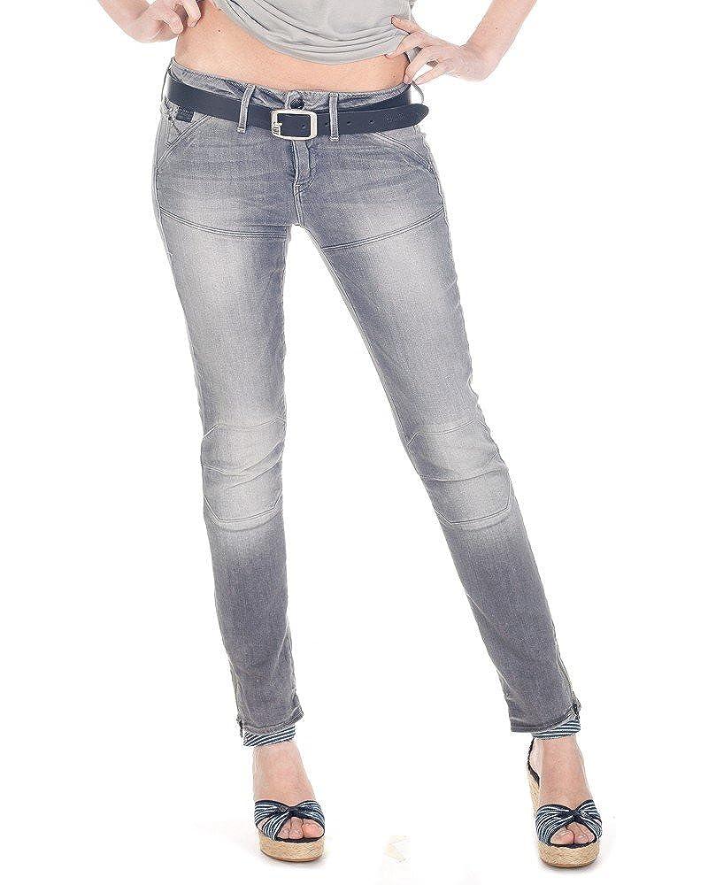 G-Star 5620 Custom Md Skinny Jeans Bikerjeans Damen Superstretch DK Aged